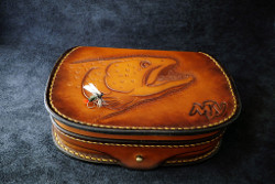 Leather Fly Case